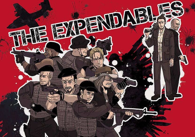 The Expendables Veslijam... Autors: elements Ko Tu nezināji par kinofilmām? 2