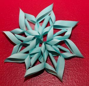 Autors: Fosilija 3D sniepārsliņas Ziemassvētkiem.