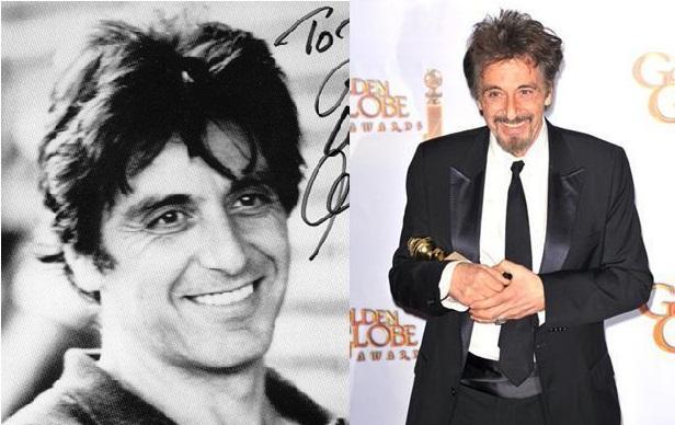 Al Pacino Autors: Kobis Filmu zvaigznes jaunībā un tagad