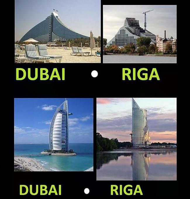Dubai vs Riga Autors: Fosilija failīgas bildes(latvian)