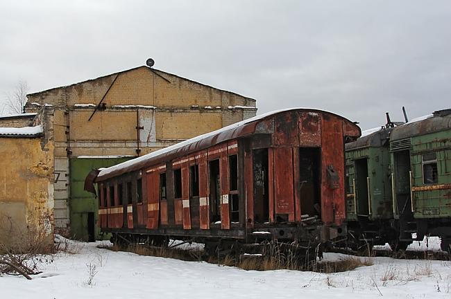 Šis vagons jau ir dedzis Autors: ShakeYourBody Pamestais vilcienu depo