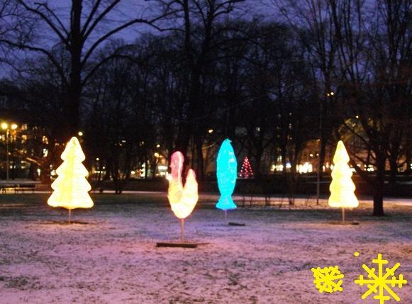 Vērmanes dārzā var ieraudzīt... Autors: ghost07 Ziemassvētki Rīgas ielās