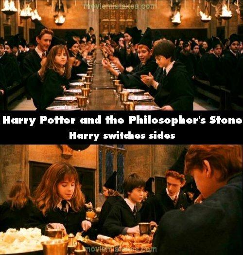 Harry Potter and the Sorcerers... Autors: lāsmaM Filmu kļūdas