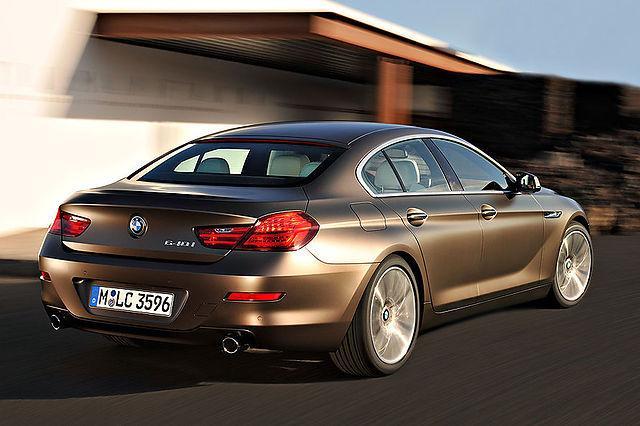 Tāpat kā sestās sērijas... Autors: TheSaint Jaunais BMW 6.sērijas Gran Coupe.