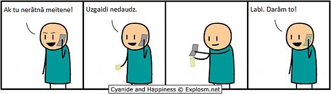 Autors: xUnleashed Cyanide And Happiness( Latviski, 1.daļa)