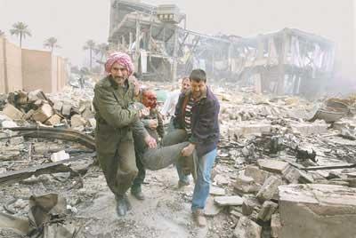 Karadarbības laikā tika... Autors: Fosilija Kādas bija izmaksas Irākas karā?