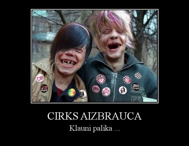 Autors: DarkForce Cirks aizbrauca