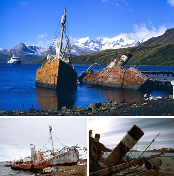 Daudzas no kuģu kapsētām ir... Autors: LielaisLempis Pamesti kuģi...
