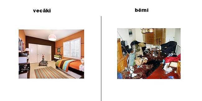 kādai jaisktās istabai Autors: monta28 kā domā vecāki un kā bērni