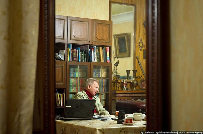 Viņscaron sakaka māja ir... Autors: Meunis Viktora māja pie Kremļa...