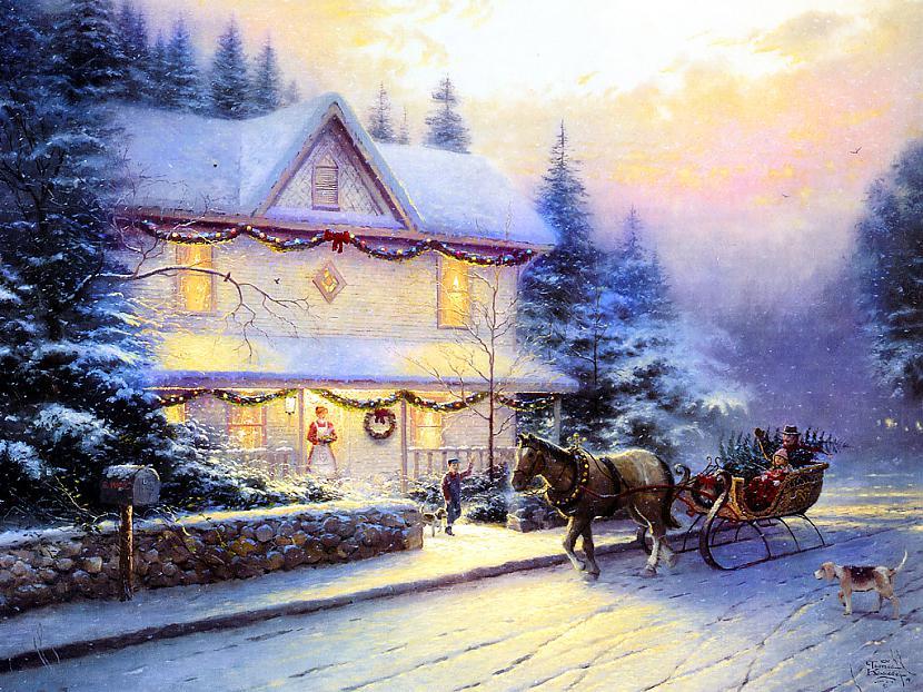 Autors: Mr Cappuccino Ziemassvētku bildes noskaņai