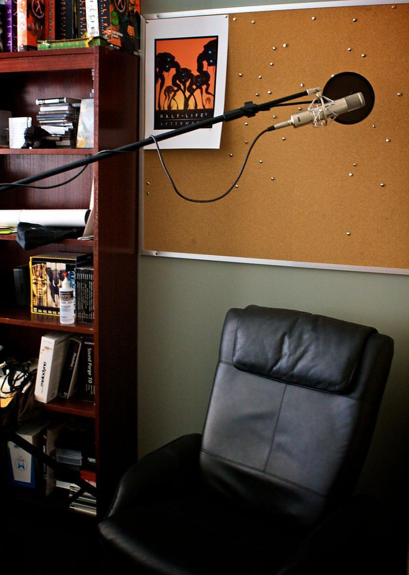 Šī ir skaņu studija Autors: Mrchair Valve software office.