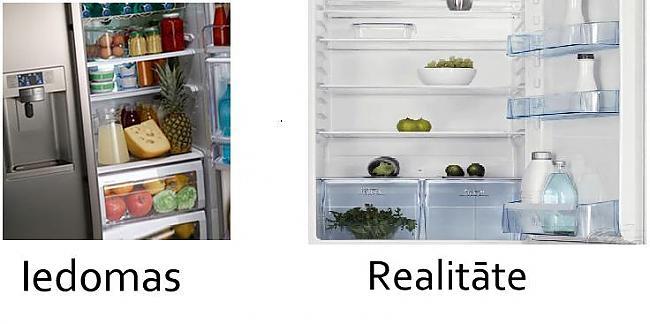 Kad tu atver ledusskapi Autors: mazaaaalaura Iedomas vs Realitāte