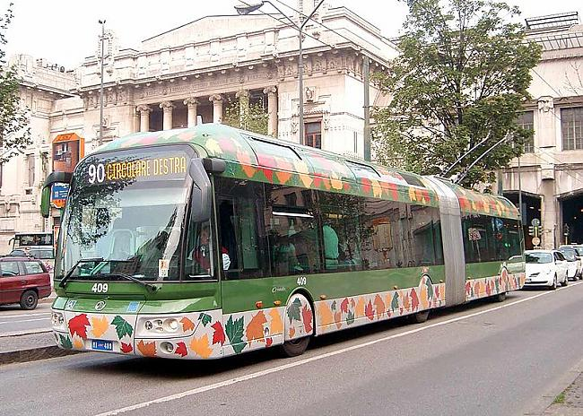 Itālijas trolejbusi Autors: trions Trolejbusu satiksme pasaulē