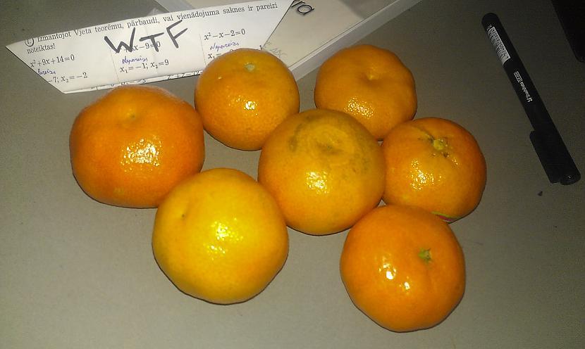 Autors: WTF 7 mandarīni
