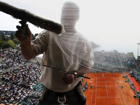 Strādā mača vidū starp Igor... Autors: AldisTheGreat 12 Bezbailīgi logu tīrītāji.