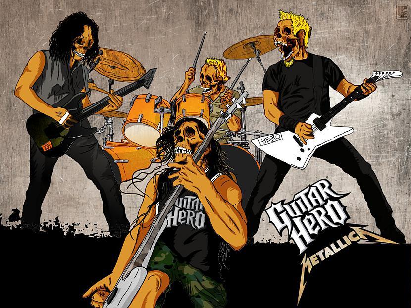 Pirmais grupas albums Kill Em... Autors: LifeFucker Leģenda- Metallica.