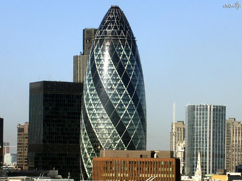 The Gherkin Autors: reinars22 Pasaules skaistākās celtnes.