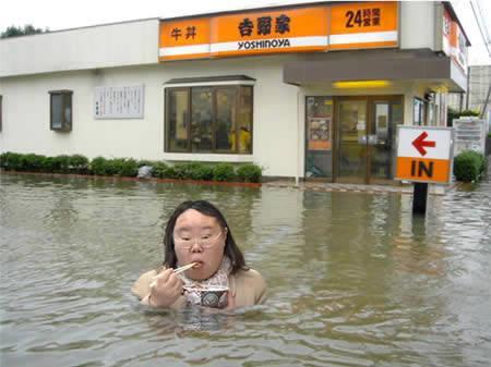 Jums pat nevajag pārstāt ēst Autors: AldisTheGreat 13 Asprātīgi atrisinājumi kā pārdzīvot plūdus.