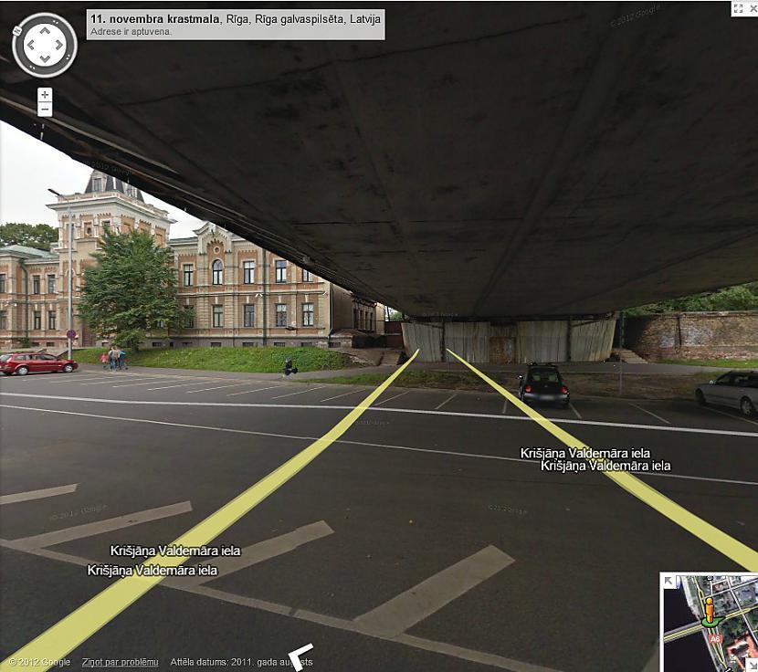 Autors: R1DZ1N1EKS Arī Latvija apskatāma Google Street View režīmā.