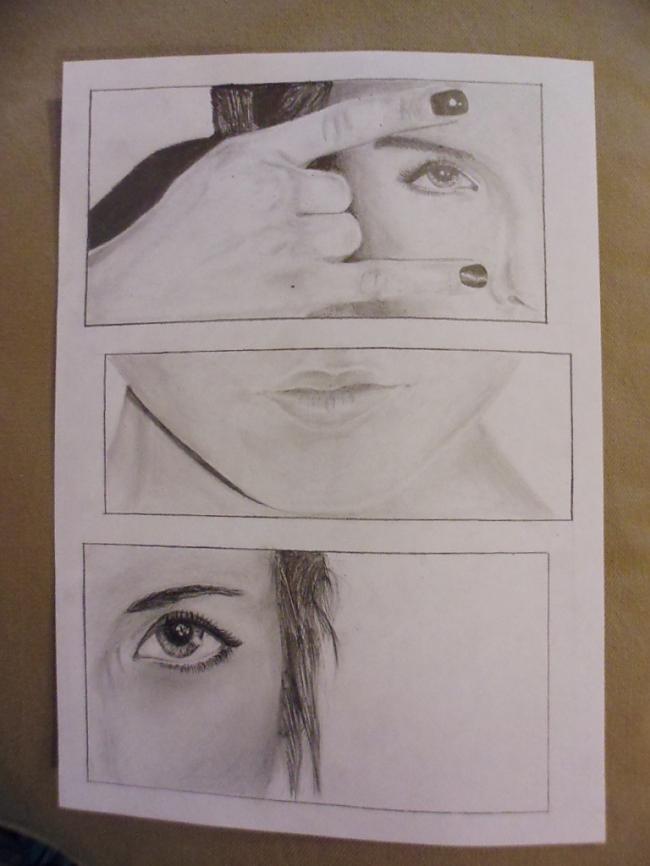 Un nu jā scaronis ir pēdējais... Autors: LielaisLempis Manu portretu evolūcija