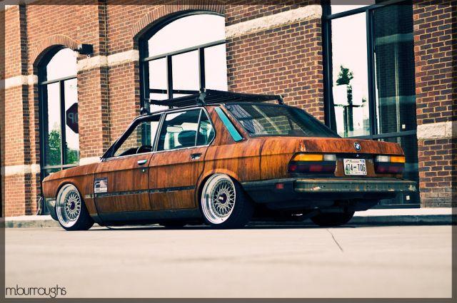 """Kārtējais BMW pārstāvis  nu... Autors: eifelis Autotūninga novirziens """"Rat Style"""""""