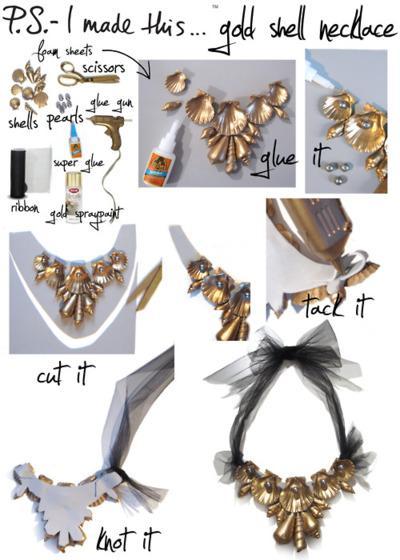 Autors: Fosilija DIY kaklarotas