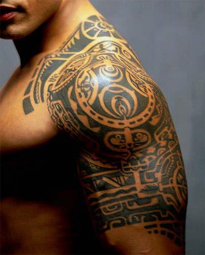 PolinēziescaronunbspPolinēzies... Autors: BezzeeCepums Tetovējumi- māksla izdaiļot ķermeni.