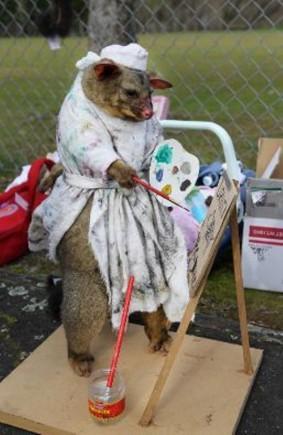Arī internetā veikta aptauja... Autors: BezzeeCepums Fotokonkurss par skaistāko mirušo oposumu