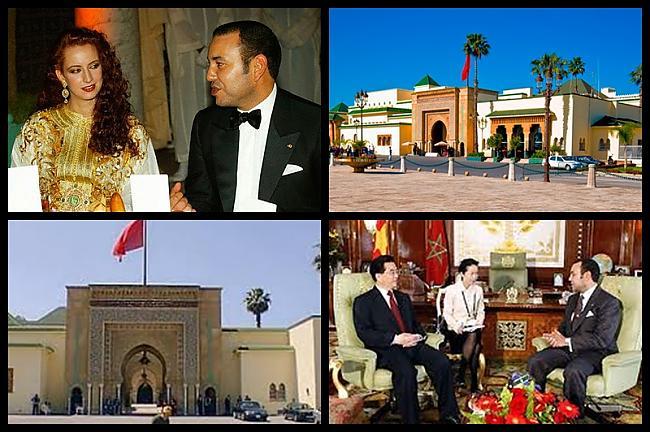 Muhameds VI Marokas karalis... Autors: Treiseris Karaļi un viņu pilis 1.daļa
