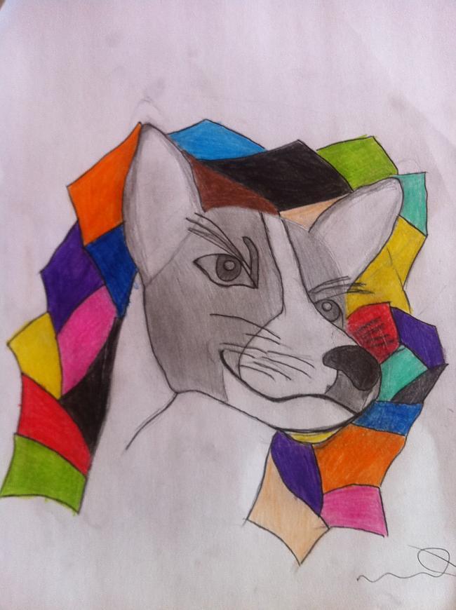 nbspManis zīmēta Arabeska 2... Autors: Budists Basendži, suņi kas nerej.