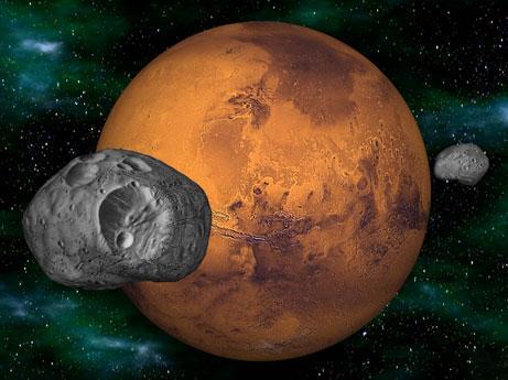 Marsam ir divi pavadoņi deimos... Autors: sprote7 Visuma fakti - MARSS