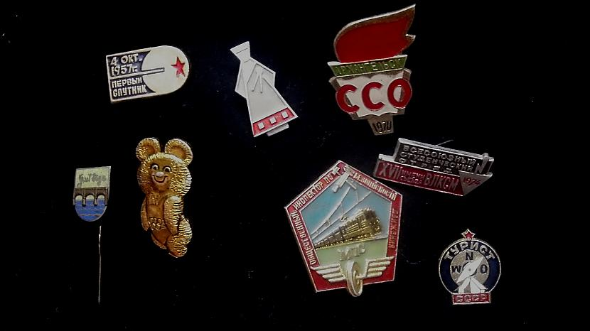 Autors: vannille PSRS laika nozīmīšu kolekcija!