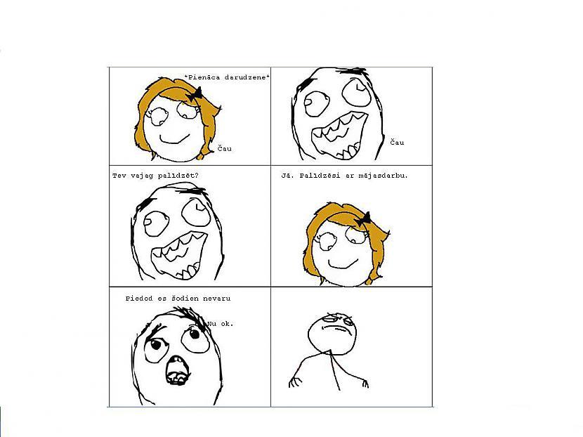 MeiteneČauPuisisČauPuisisTev... Autors: Fosilija Mans pirmais komiks