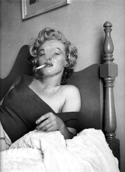 nbspWhat do I wear in bed Why... Autors: serenasmiles Marilyn Monroe bildēs un citātos.