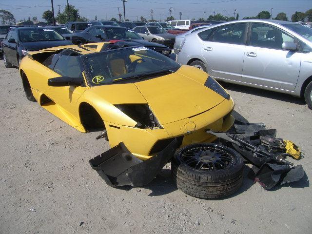 2005gada Lamborghini... Autors: Latišs Avārējušie dārgauto...