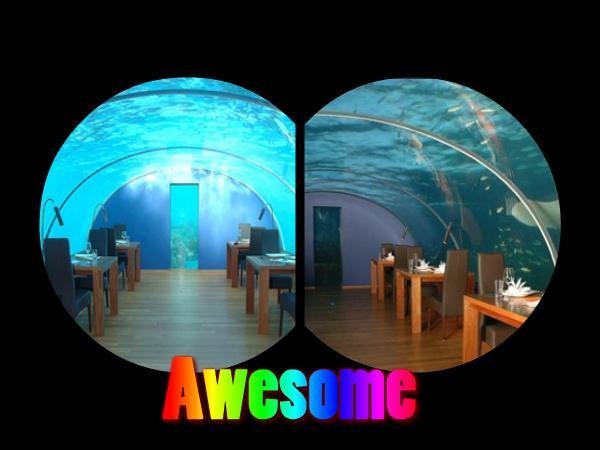 Underwater Restaurant in... Autors: Fosilija 10 Interesantākie restorāni Pasaulē =)