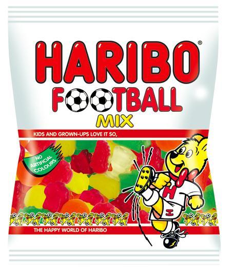 Haribo Football Mix Autors: CaptainMorgan21 Jaunās HARIBO končas