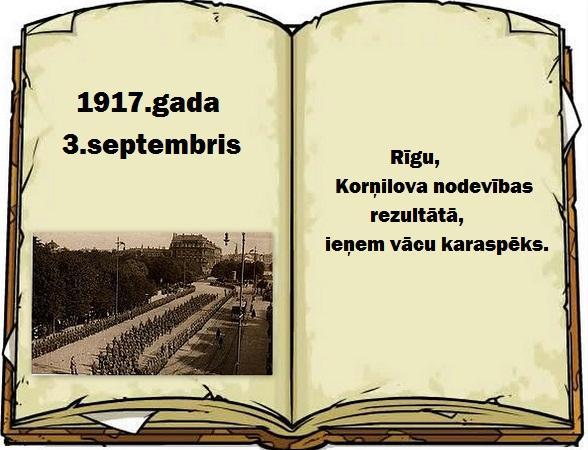 Autors: GargantijA Pāršķirstot Latvijas vēsturi... Septembris.