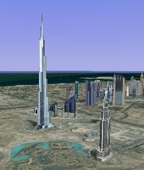 Scaronaij milzīgajai celtnei... Autors: Fosilija Iespaidīgais Burj Khalifa.