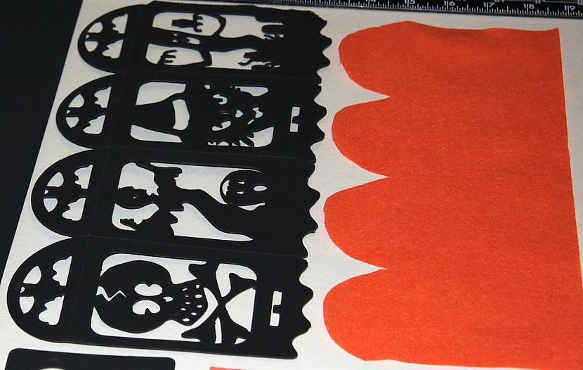 nbspSolis 4Izgriežam krāsaino... Autors: monta28 Lampa Helovīnu stilā