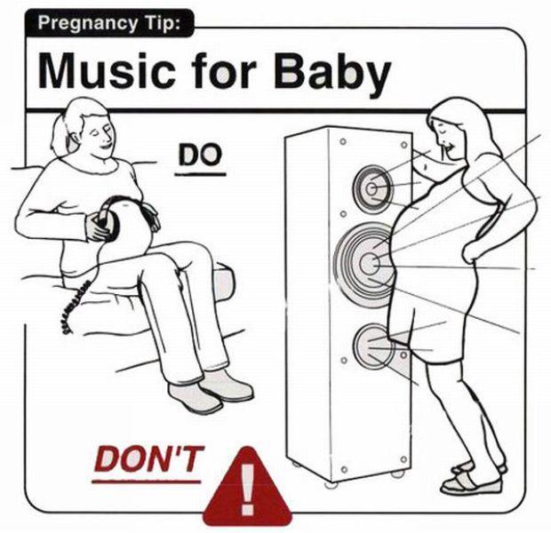 Autors: Fosilija 23 smieklīgi padomi grūtniecēm