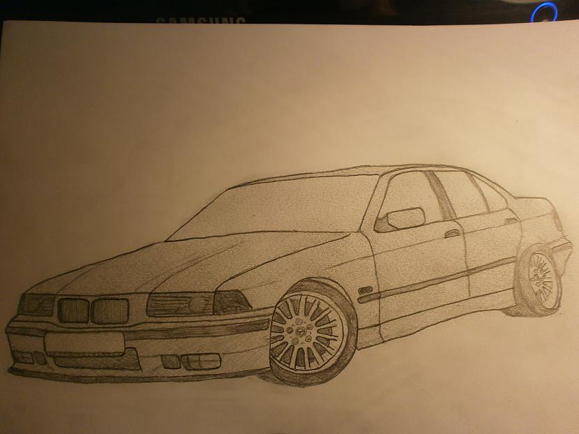 BMW E36Orģināls bija sslv... Autors: LinardsK Pazīmēju!