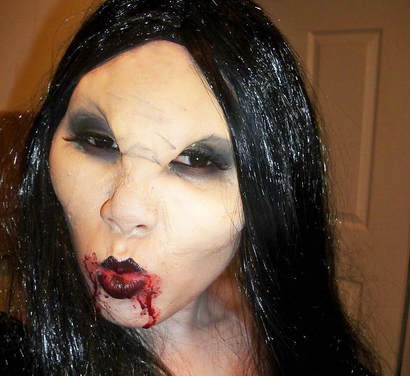 Autors: Divangrauzejs Smuki helloween makeup.:)