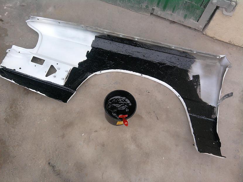 Otrs spārns gatavs Autors: Fosilija Audi Typee 44 3. daļa