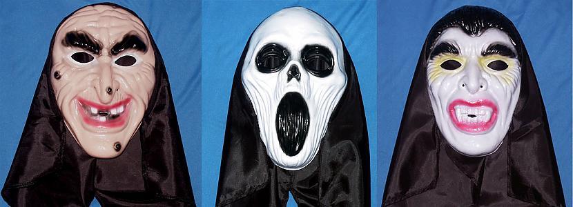 Maskas un kostīmiRunājot par... Autors: Kinkažu Helovīna simboli un to nozīme