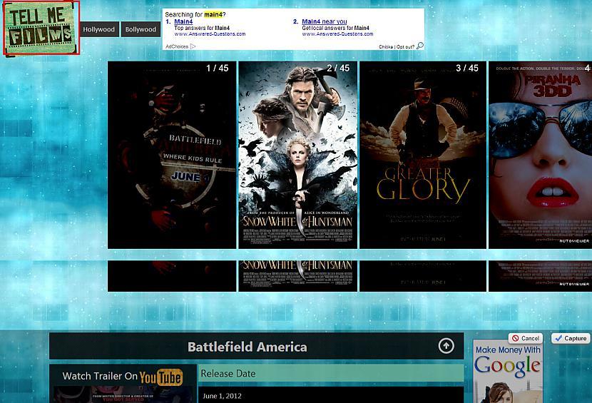 TellMeFilms nbspNezini kaadu... Autors: catvsdog google chrome