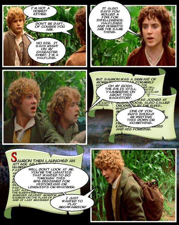 The Lord of the Rings Autors: wurry Filmu komiksi 8