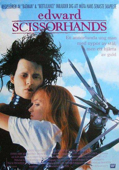 Edward scissorhands Autors: Girtens  Ne tā pirmā svaiguma filmas kuras vērts noskatīties