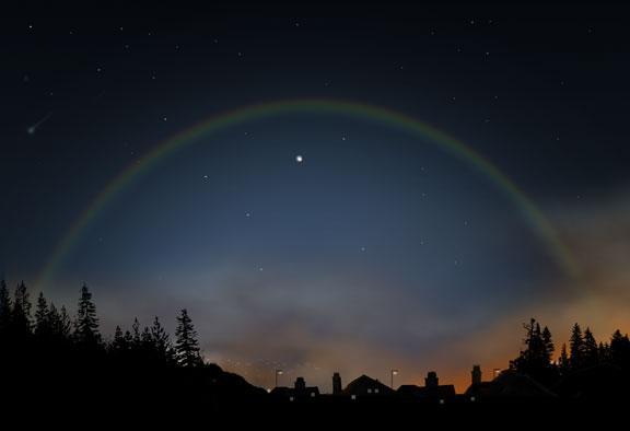 Mēness loku visvieglāk ir... Autors: iFakti Dabas parādība - Mēness loks